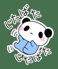 Small baby rabbit and panda sticker #3685341