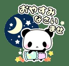 Small baby rabbit and panda sticker #3685350