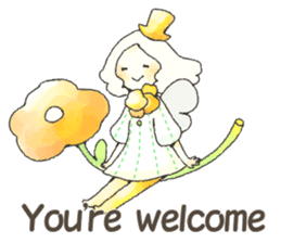 HAPPY FAIRY (English ver.) sticker #3688034