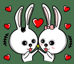 Lovely Rabbit Lily's diary sticker #3691847