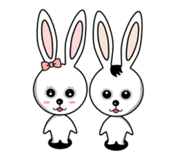 Lovely Rabbit Lily's diary sticker #3691848