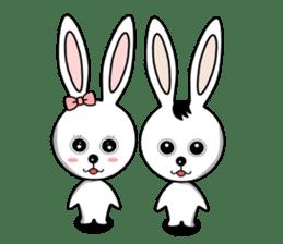 Lovely Rabbit Lily's diary sticker #3691848