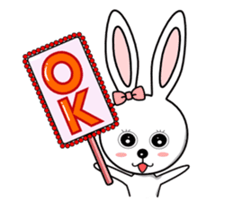 Lovely Rabbit Lily's diary sticker #3691849