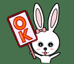 Lovely Rabbit Lily's diary sticker #3691849
