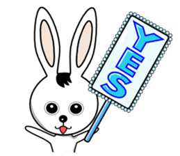 Lovely Rabbit Lily's diary sticker #3691850