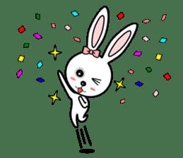Lovely Rabbit Lily's diary sticker #3691851
