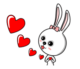 Lovely Rabbit Lily's diary sticker #3691853