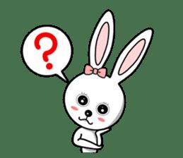 Lovely Rabbit Lily's diary sticker #3691857