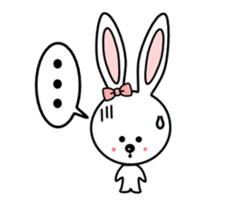 Lovely Rabbit Lily's diary sticker #3691858