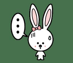 Lovely Rabbit Lily's diary sticker #3691858
