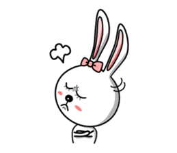 Lovely Rabbit Lily's diary sticker #3691859