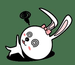 Lovely Rabbit Lily's diary sticker #3691861