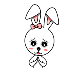 Lovely Rabbit Lily's diary sticker #3691864