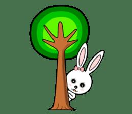 Lovely Rabbit Lily's diary sticker #3691877