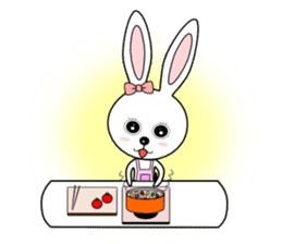 Lovely Rabbit Lily's diary sticker #3691879