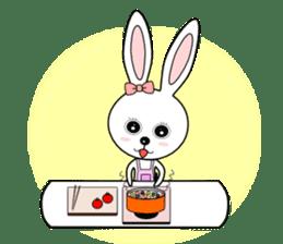 Lovely Rabbit Lily's diary sticker #3691879