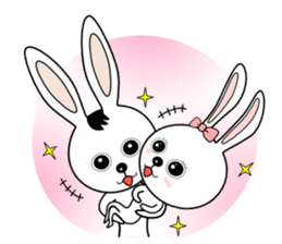 Lovely Rabbit Lily's diary sticker #3691883