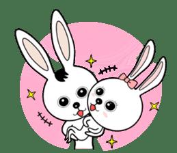 Lovely Rabbit Lily's diary sticker #3691883