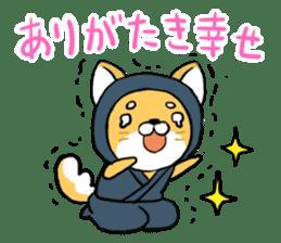 Shibainu Ninja sticker #3692772