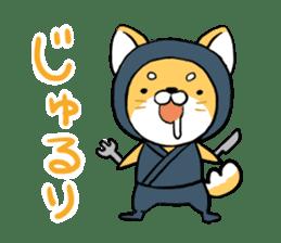 Shibainu Ninja sticker #3692774