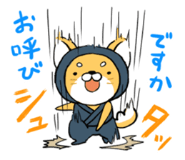 Shibainu Ninja sticker #3692775