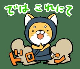 Shibainu Ninja sticker #3692777