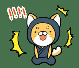 Shibainu Ninja sticker #3692782