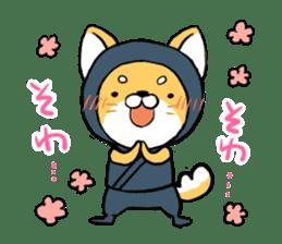 Shibainu Ninja sticker #3692783