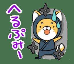 Shibainu Ninja sticker #3692786