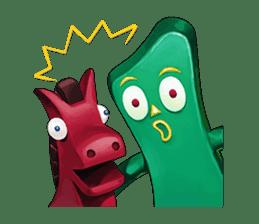 Gumby and Pokey sticker #3695822