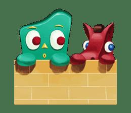 Gumby and Pokey sticker #3695826