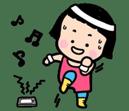 Mobile Girl, MiM - v1 sticker #3702494