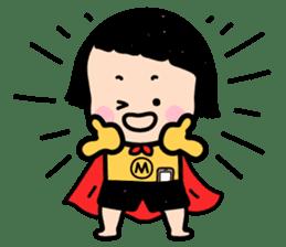 Mobile Girl, MiM - v1 sticker #3702496