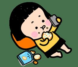 Mobile Girl, MiM - v1 sticker #3702499