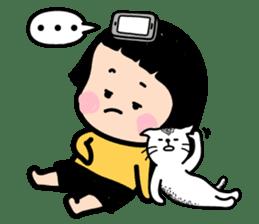 Mobile Girl, MiM - v1 sticker #3702508