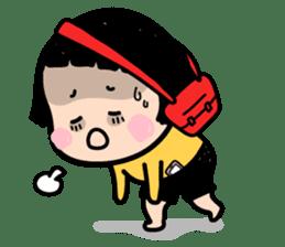 Mobile Girl, MiM - v1 sticker #3702516