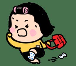 Mobile Girl, MiM - v1 sticker #3702520