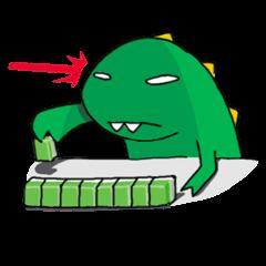 Doodle Dino Sam (II)