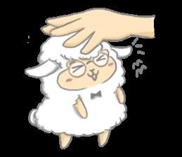 Nerdy Llama sticker #3712871
