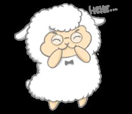 Nerdy Llama sticker #3712872