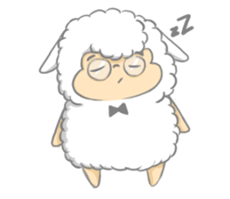 Nerdy Llama sticker #3712873