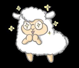 Nerdy Llama sticker #3712874