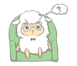 Nerdy Llama sticker #3712875