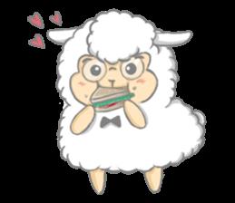 Nerdy Llama sticker #3712877