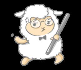 Nerdy Llama sticker #3712881