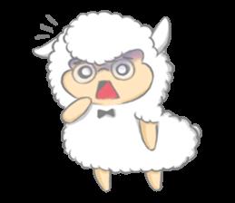 Nerdy Llama sticker #3712882