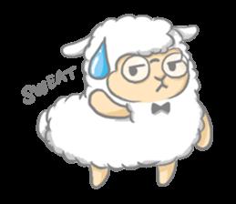 Nerdy Llama sticker #3712884