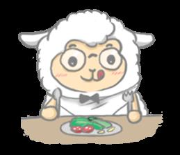 Nerdy Llama sticker #3712887