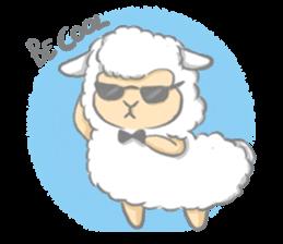 Nerdy Llama sticker #3712888