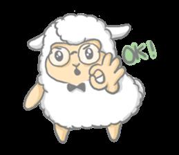 Nerdy Llama sticker #3712894